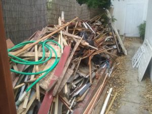 junk removal by Affordable Hauling in Santa Rosa